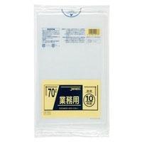 業務用ゴミ袋 70L 透明 10枚