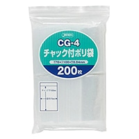 チャック付きポリ袋(C)200P CG-4