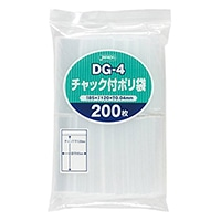 チャック付きポリ袋(D)200P DG−4