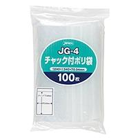 チャック付きポリ袋(J) 100P JG-4