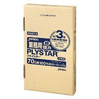 【ケース販売】PSB73 業務用ポリ袋 プライスター 箱入 70L 400枚(100枚入×4箱)【別送品】