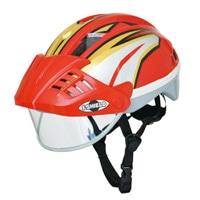 YB-3018 アイシールドヘルメット Sレッド