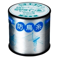 防鳥糸ミヤライン2000m 透明