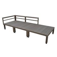 【SU】人工木ユニットデッキ 0.75坪セット DB