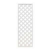 レシナ-g ラティス 1860 高さ180×幅60cm ホワイト【別送品】