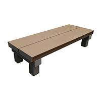 【SU】人工木デッキT型用ステップ9036ブラウン