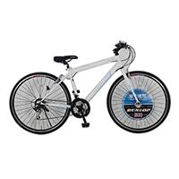 【自転車】《ダンロップ》700C ダンロップ ウェブソラノC ホワイト