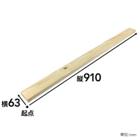 【SU】SPF材 1×3 3F【別送品】