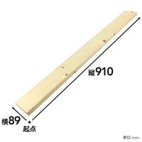 【SU】SPF材 1×4 3F【別送品】