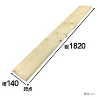 【SU】SPF材 1×6 6F【別送品】