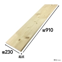 【SU】SPF材 1×10 3F【別送品】