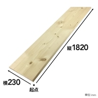 【SU】SPF材 1×10 6F【別送品】