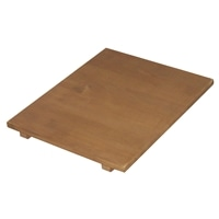 木製収納庫 大 右棚板 ブラウン