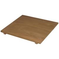 木製収納庫 大 左棚板 ブラウン
