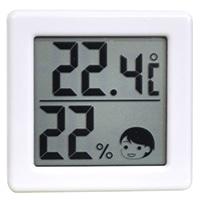 小さいデジタル温湿度計 O−257WT