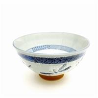 茶碗(中) 市松トンボ