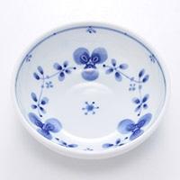 軽量4.0鉢 藍つづり 12cm