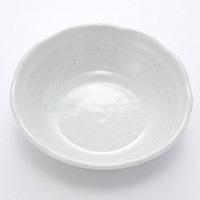4.5小鉢 粉引釉 13cm