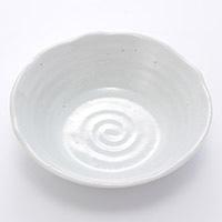 5.5鉢 粉引釉 16cm