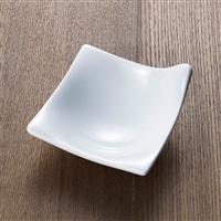 【trv】kowake[コワケ] 手付き小皿 ホワイト