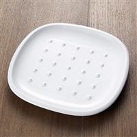【trv・数量限定】crust[クラスト] パン皿(ドット柄) アイボリー