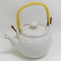 土瓶6号白磁器1000ml HA455