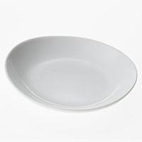 楕円皿 白磁器