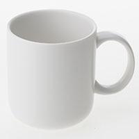 マグカップ白磁300ml HA4607