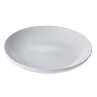 食器 丸皿 白磁 23cm HA4631