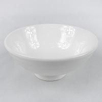 飯椀大平 白磁 HA4647