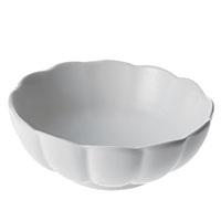 食器 花型 中鉢 白磁