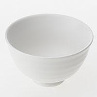深型飯碗 中 白磁