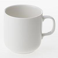 マグカップ 白磁 340ml