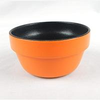 ふっ素加工ココットオレンジ9cm HA4692