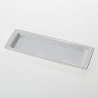角型小鉢用プレート白磁