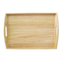 木製角型トレー盆(大)