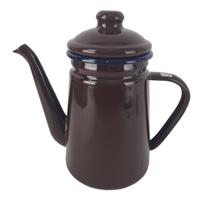 ホーローコーヒーポット 1.1L ブラウン HA4967