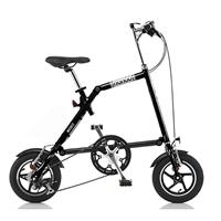 【ネット限定】【自転車】折りたたみ自転車 NANOO 14インチ ブラック【別送品】