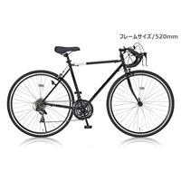 【ネット限定】【自転車】700Cロード センシティブ 520BK [19250]【別送品】