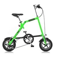 【ネット限定】【自転車】14折りたたみ自転車 NANOO FD-1207 GN [19565]【別送品】