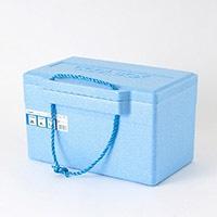 発泡クーラーBOX 青 TI−200PL