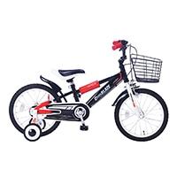 【自転車】《池商》MD-10 子供用自転車16 ブラック