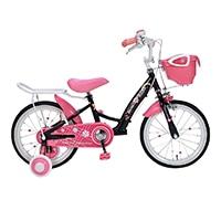 【自転車】《池商》MD-12 子供用自転車16・補助輪付 ブラック