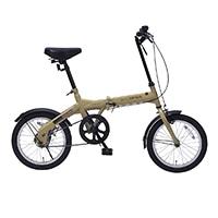【自転車】《池商》M-100 折畳自転車16インチ カフェ CA