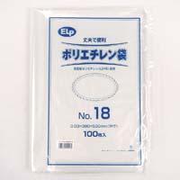 ELPポリエチレン袋 No.18 100P