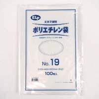ELPポリエチレン袋 No.19 100P