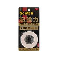 3M スコッチ(R) 超強力両面テープ プレミアゴールド(多用途)KPG-19