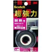 3M スコッチ(R) 超強力両面テープ 耐熱用 12 1.5KHR-12