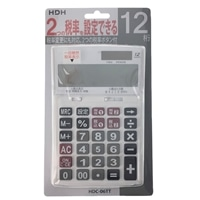 HDH W税電卓 HDC-06TT
