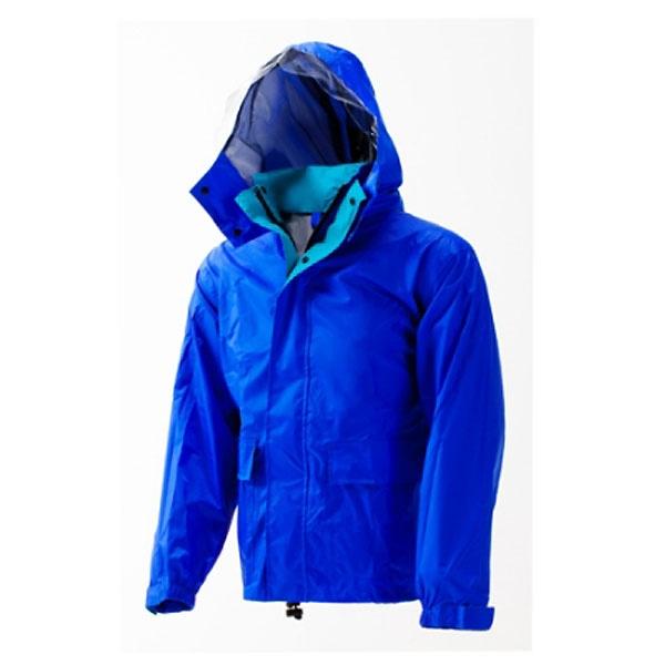 【数量限定】軽量透湿レインスーツ ロイヤルブルー M